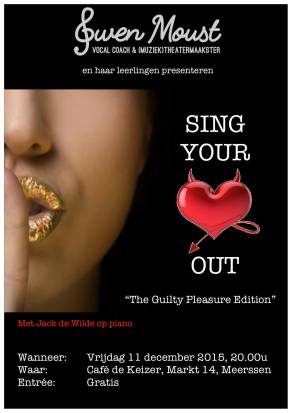 Sing Your Heart Out - Guilty pleasure edition